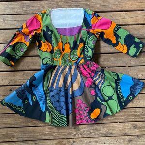 Groovy mini dress